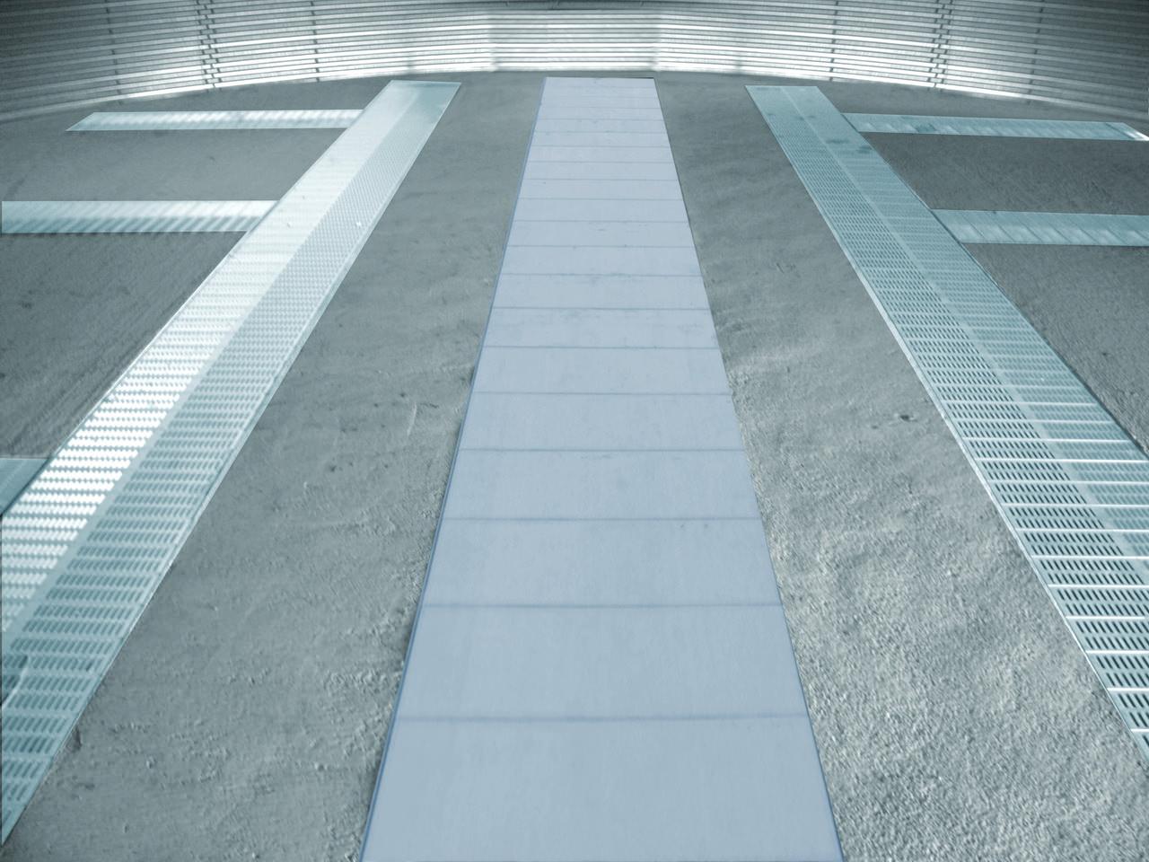 Piano ventilato per silo