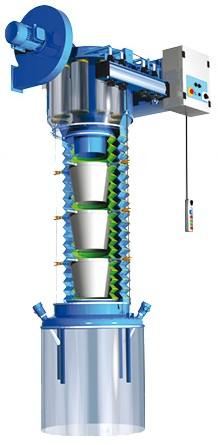 scaricatore-telescopico